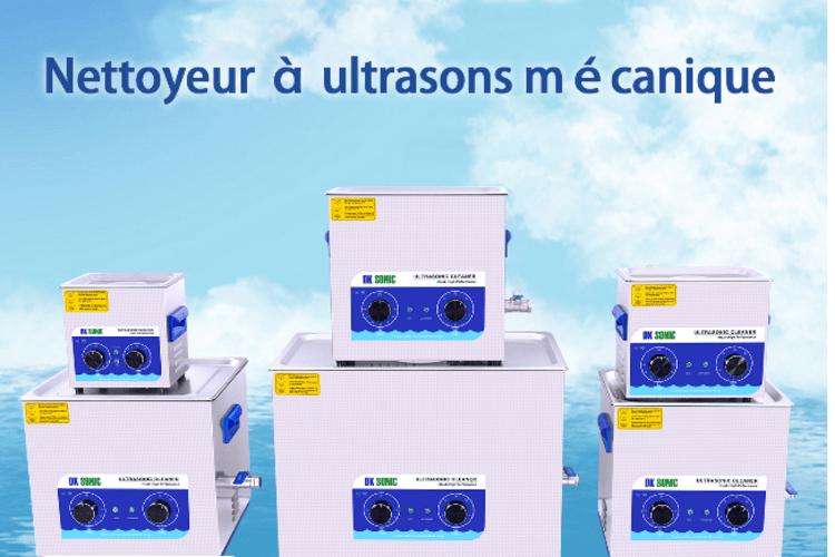 Nettoyeur ultrason pour carburateur et pièces mécaniques