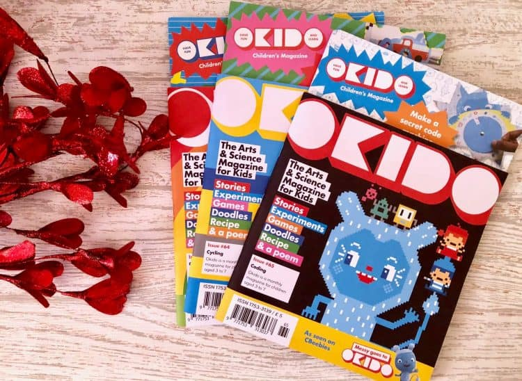 OKIDO - The Art's and Science Magazine Subscription