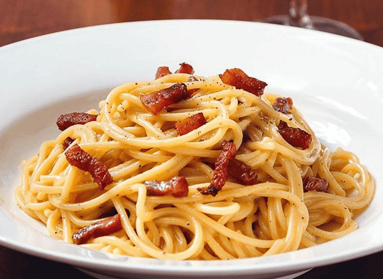 originele pasta carbonara (Spaghetti alla Carbonara)