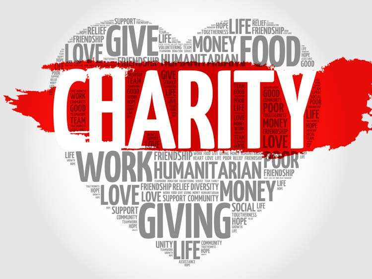How can I leave a gift to charity under my Will