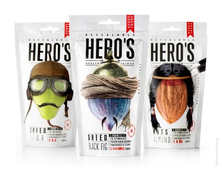 heros csomagolás hős