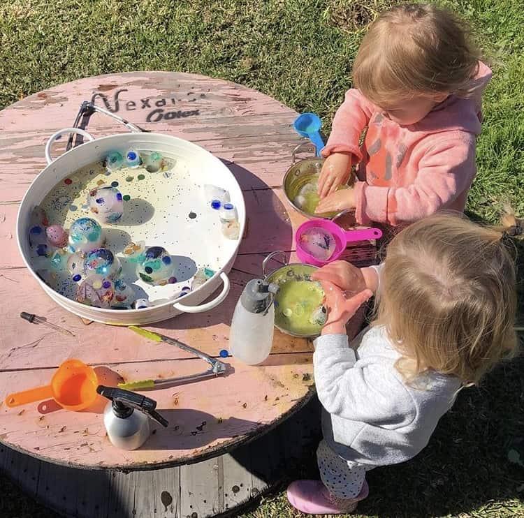 Water play kids