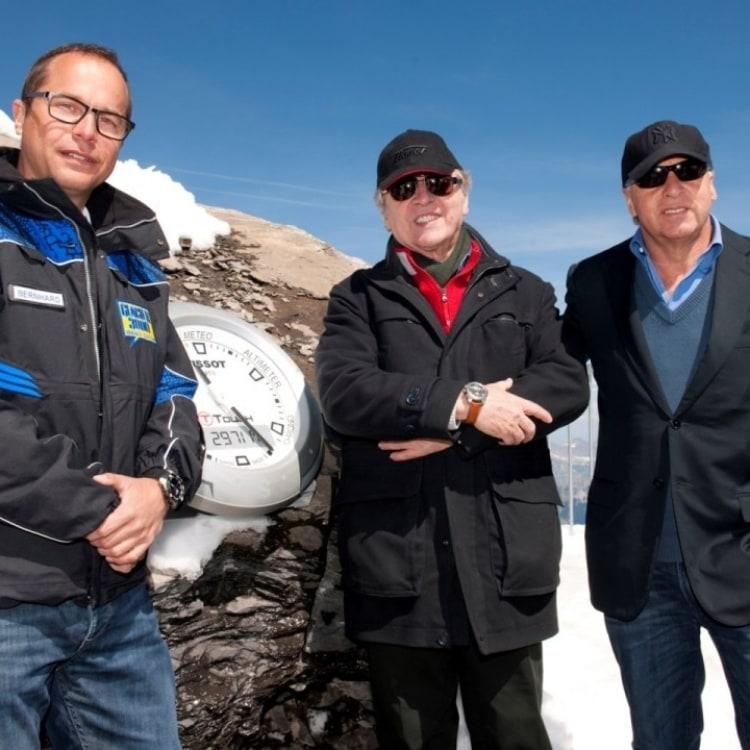 Bernard Tschannen, Francois Thiebaud & Marcel Bach