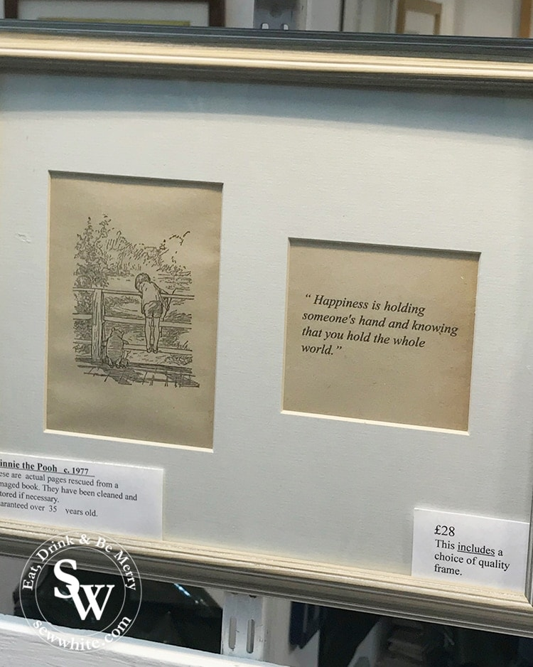 The Print Rescuer winnie the pooh quote and illustration.