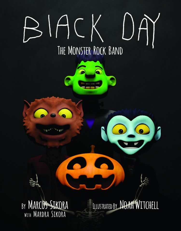 Black Dat The Monster Rock Band Marcus Sikora