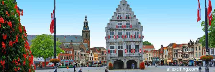 Gouda City in the Netherlands
