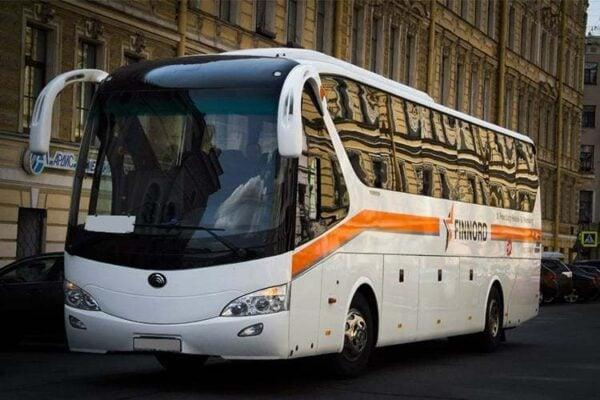 Автобус Санкт-Петербург - Хельсинки