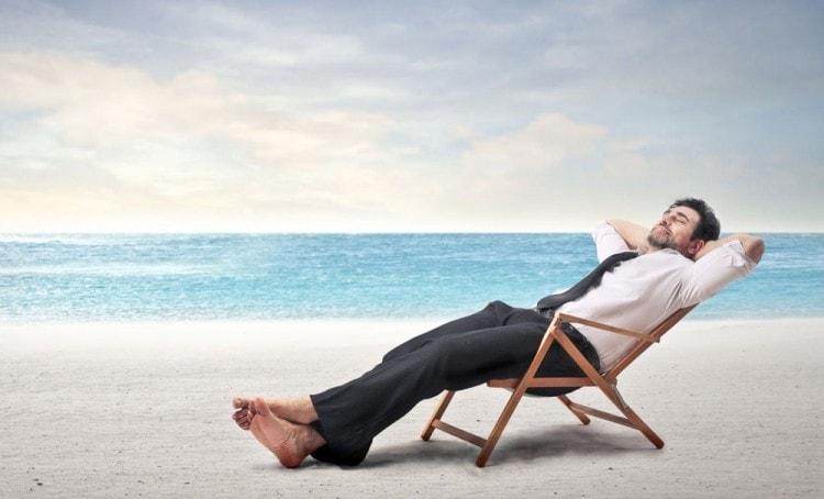 Отдыхайте и расслабляйтесь, чтобы не выпадали волосы и росла борода