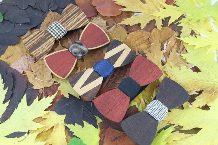 Деревянные галстук-бабочки в магазине Bowandtie Shop Gallery