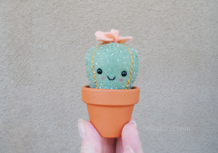 cactus sewing pattern