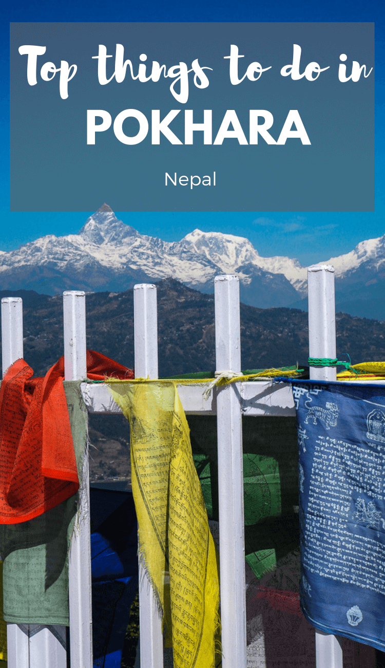 Things to do in Pokhara Nepal. From visiting the world peace pagoda to staying on Phewa Lake, here are the best things to do in Pokhara Nepal.