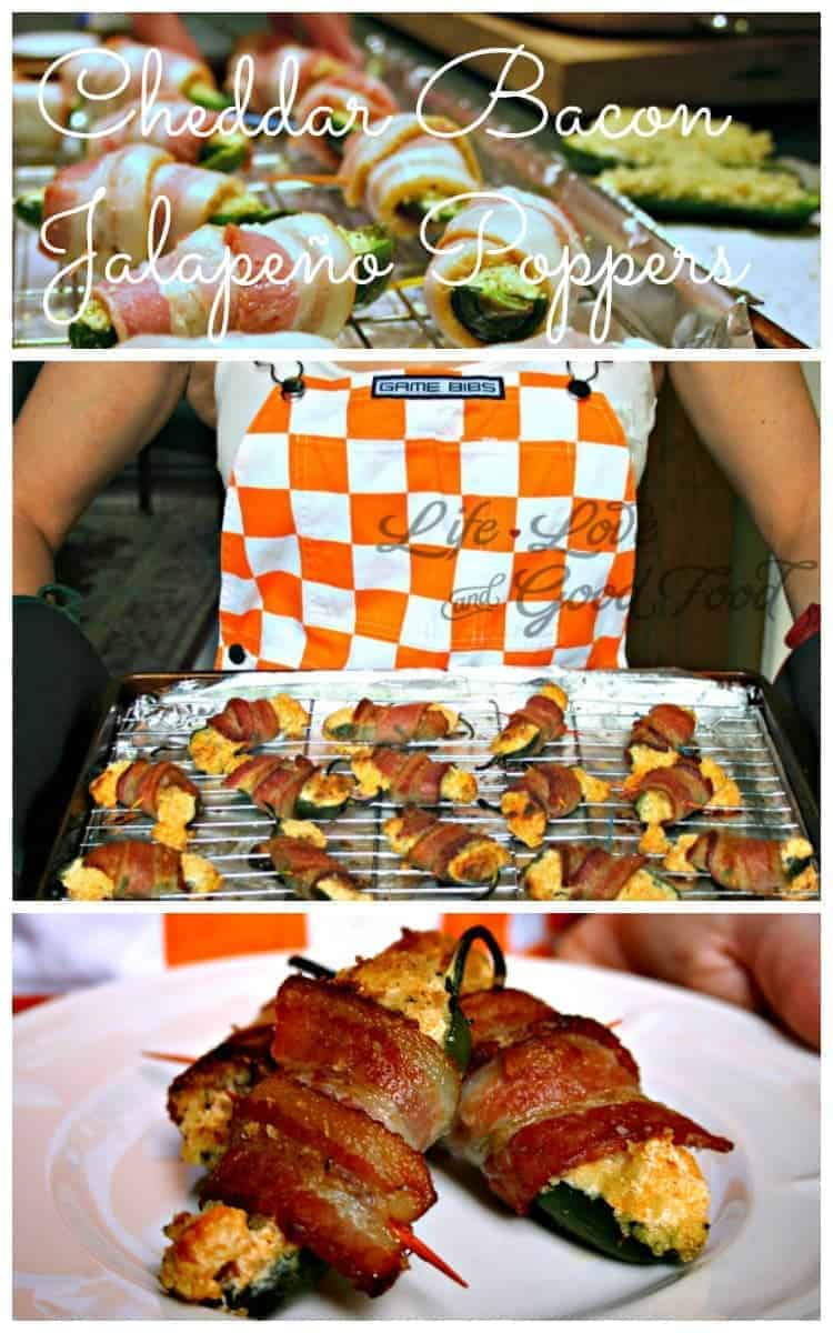 Cheddar Bacon Jalapeno Poppers