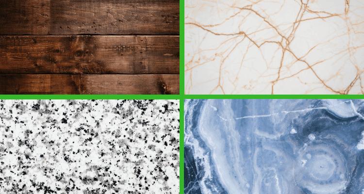 Top Trends in Kitchen Design 2019 - countertop designs and materials