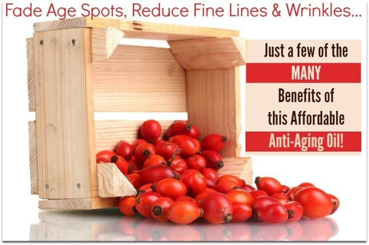 Rosehip Seed Oil Benefits for Wrinkles, Age Spots and More! http://SimplePureBeauty.com/1844 #antiaging #antiwrinkle #rosehipseedoil