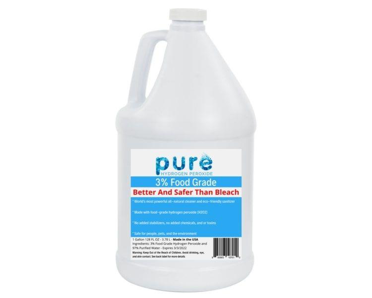 Hydrogen Peroxide Bleach