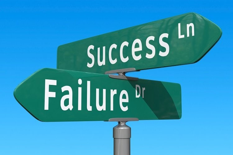 start-ups which fail