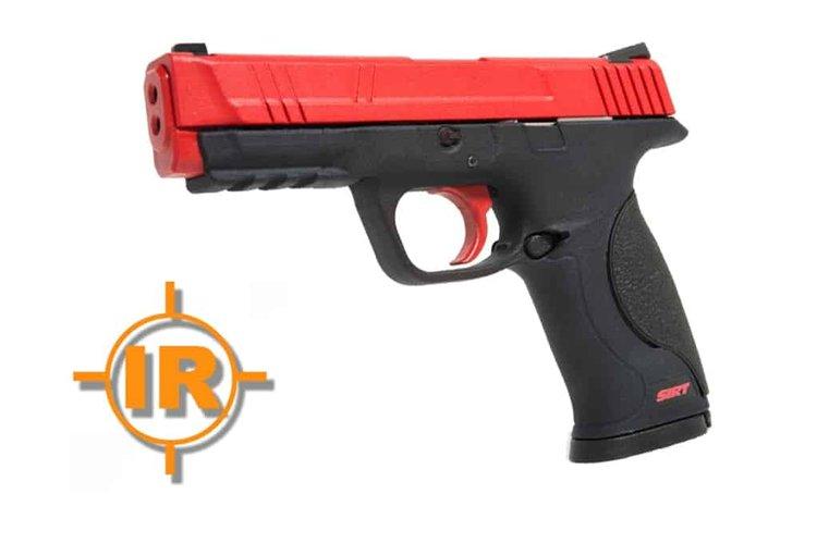 SIRT IR training pistol with red slide