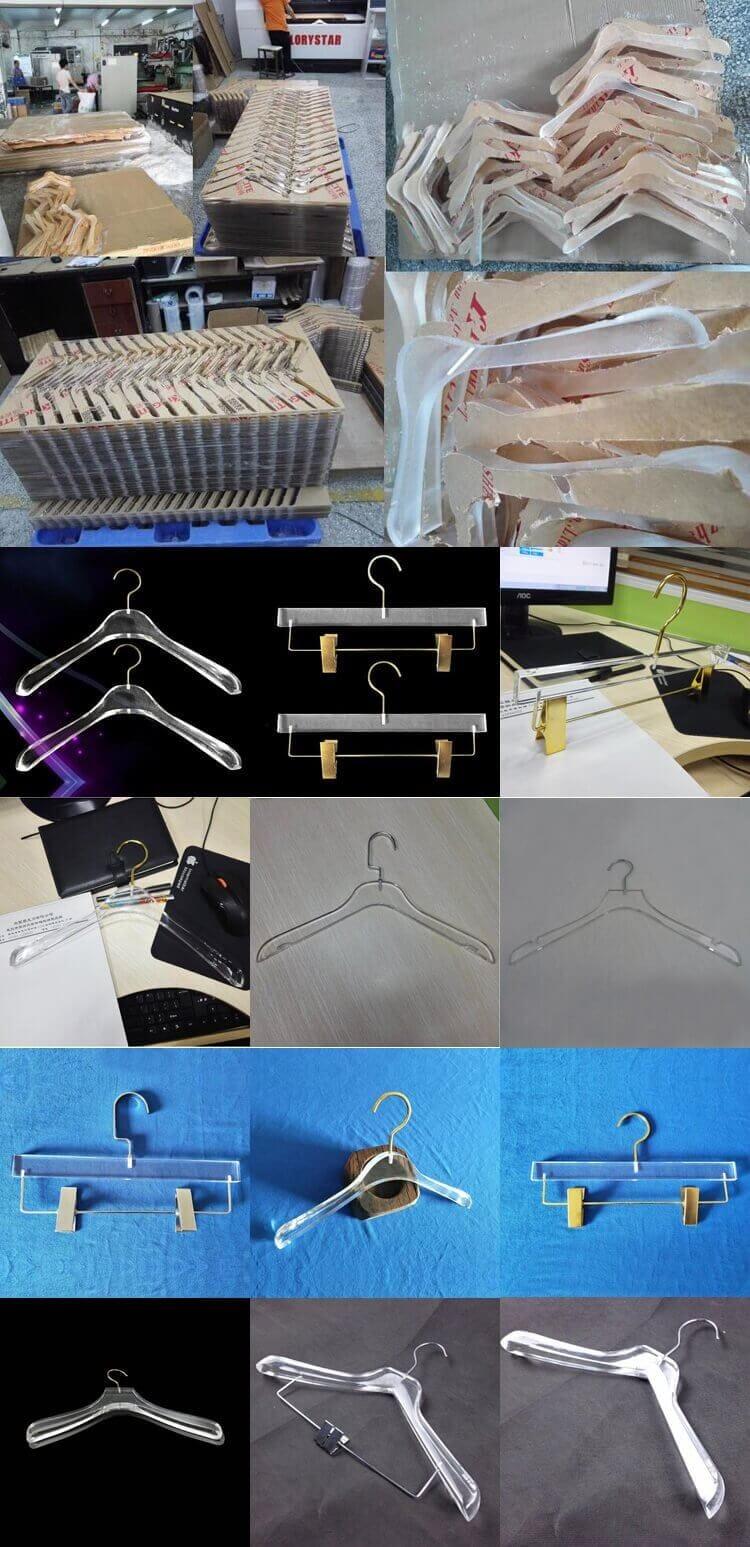 Custom Clear Acrylic Hanger