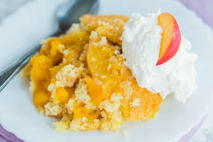 Weight Watchers Peach Cobbler Recipe