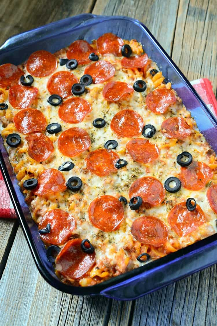 Weight Watchers Pepperoni Pizza Casserole Recipe
