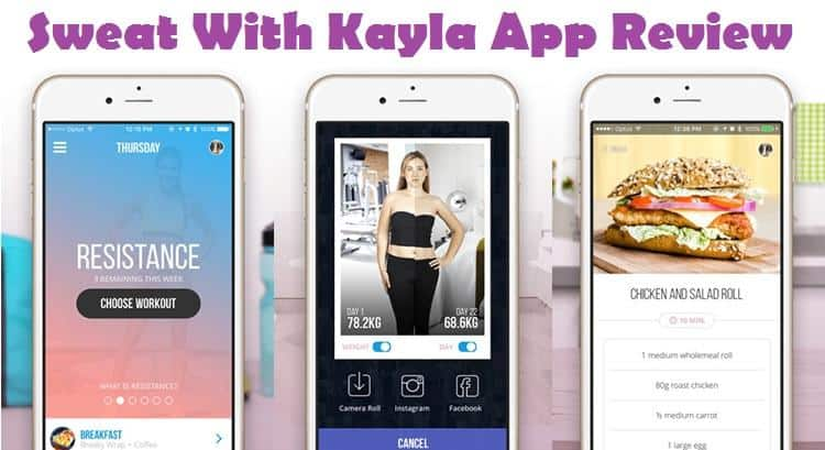 Sweat With Kayla App