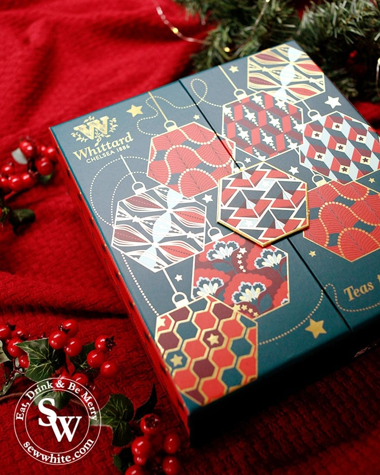 Whittard's luxury tea advent calendar in the top 5 advent calendars for Christmas