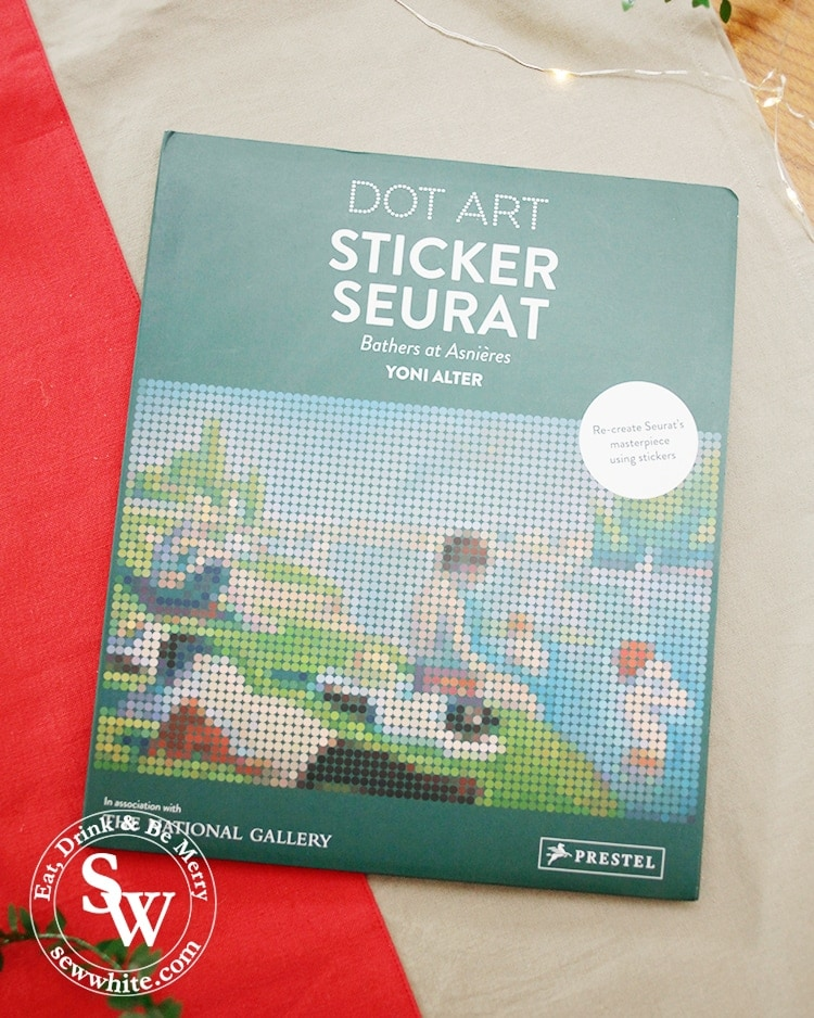 Dot Art Sticker Seurat craft gifts in the top 5 Craft Gifts for Christmas