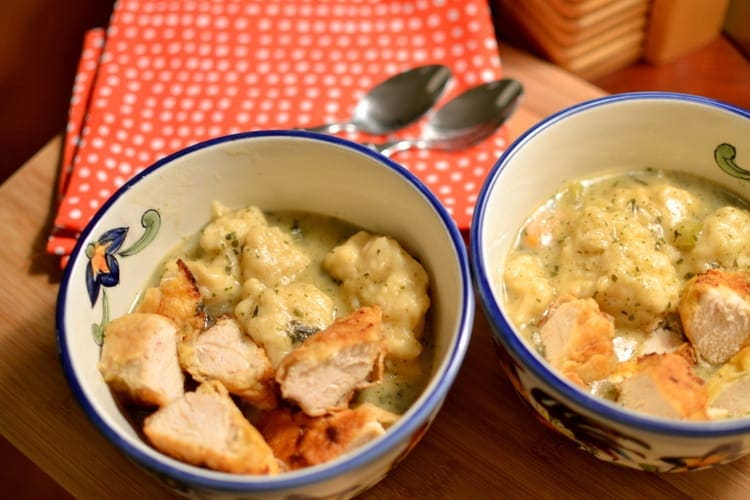 The Best Chicken and Dumplings