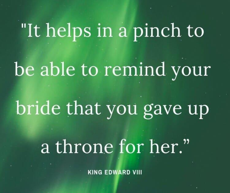 King Edward VIII Quotes