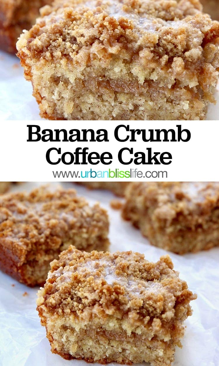 Banana Crumb Coffee Cake recipe