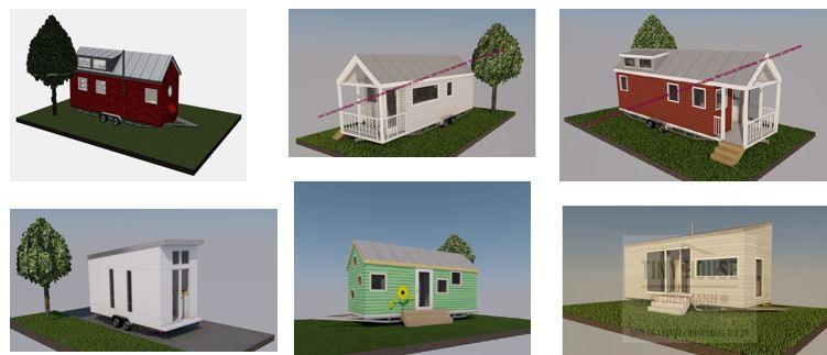 Zusammenstellung Tiny House (c) Diekmann