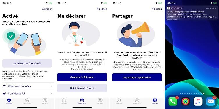 Francia COVID App