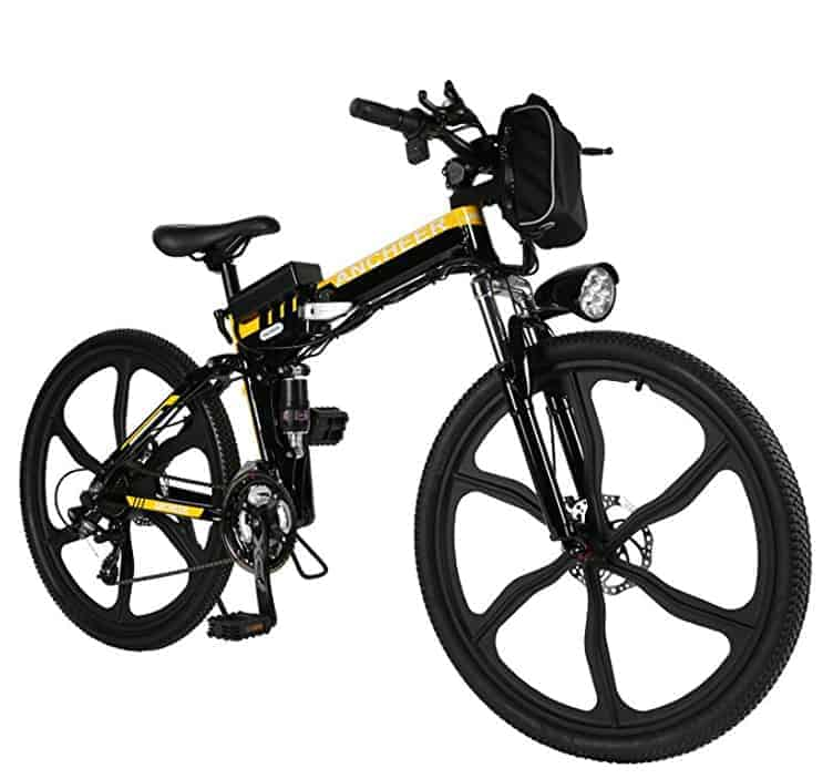 Mountain bike foldable