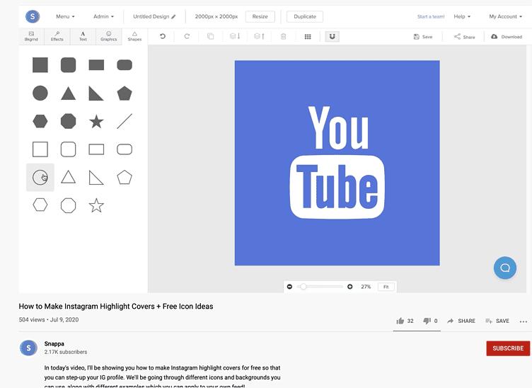 design video tutorial ideas