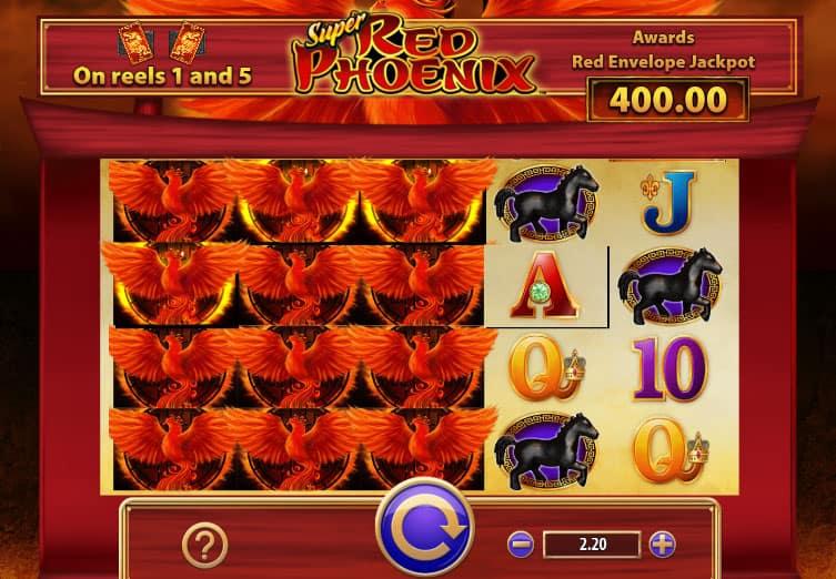 Super Red Phoenix Slot