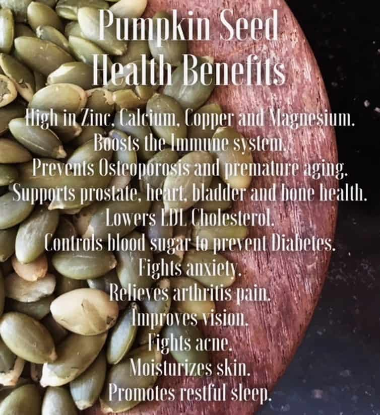 Best 6 Pumpkin Seed Health Benefits