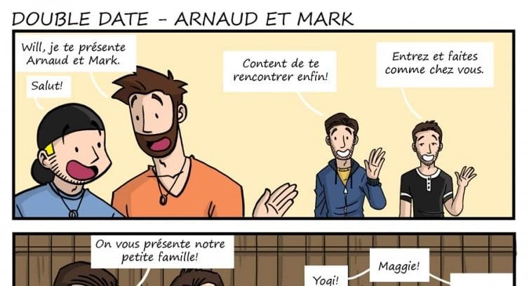 Épisode 191 – Double date – Arnaud et Mark