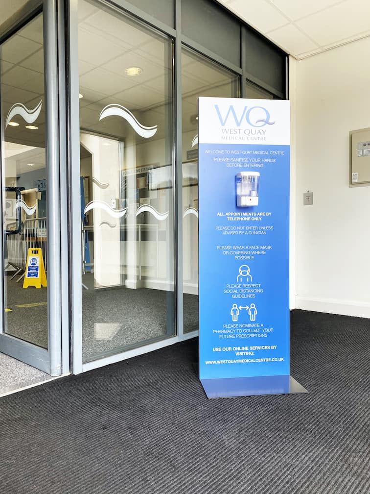 Contactless Sanitiser Stations - Cardiff