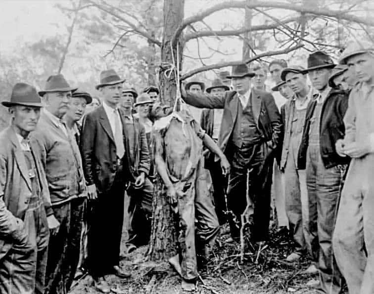 Linchamiento de Lint Shaw, 28 de abril de 1936, Royston, Georgia.