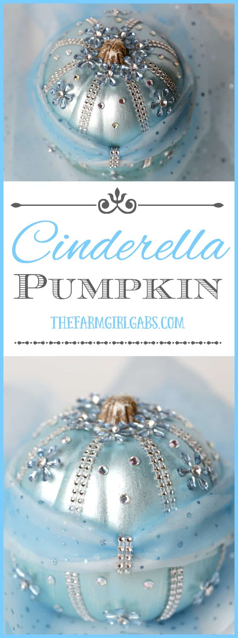 Diy Disney Cinderella Pumpkin The Farm Girl Gabs