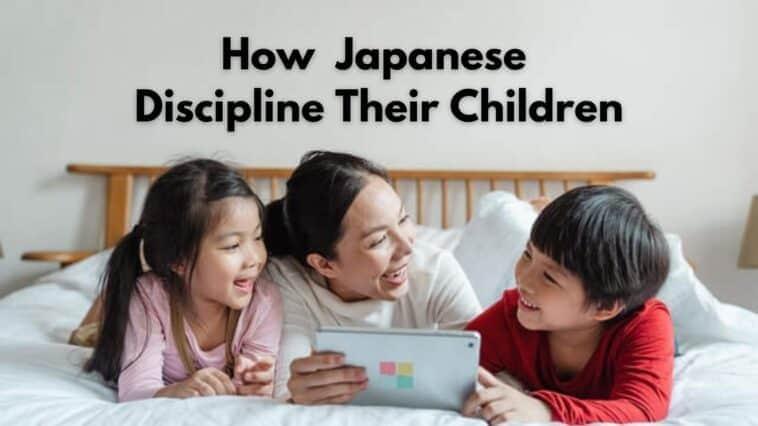 how do the japanese discipline children