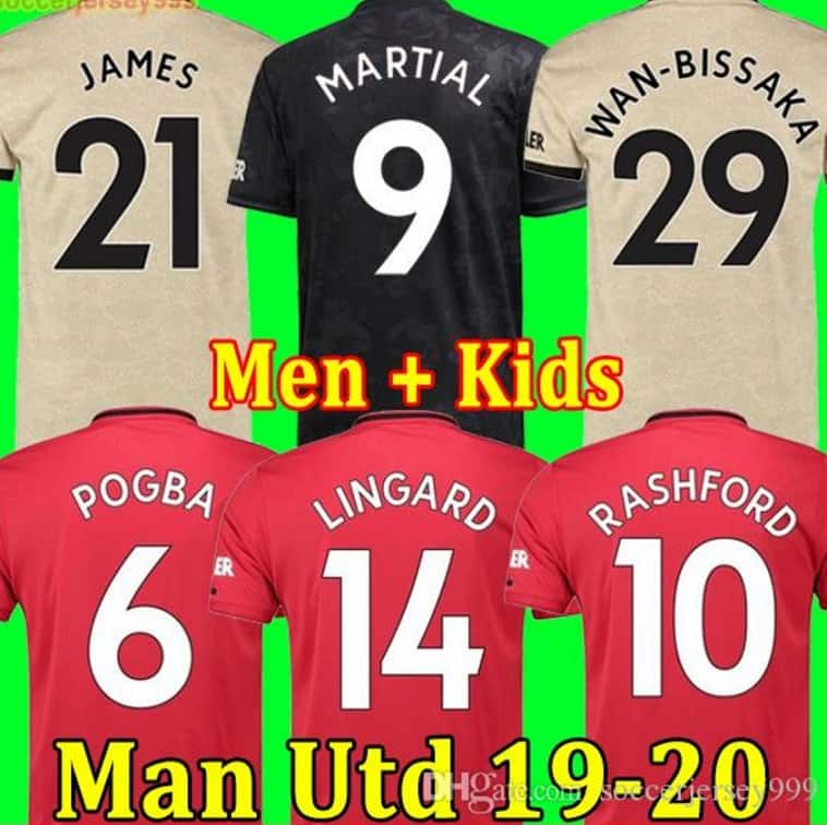 Best Chinese Replica DHGate Cheap Fake Nike Adidas Puma Jersey Seller 5 Soccer Jersey Store Manchester United Man U 2019