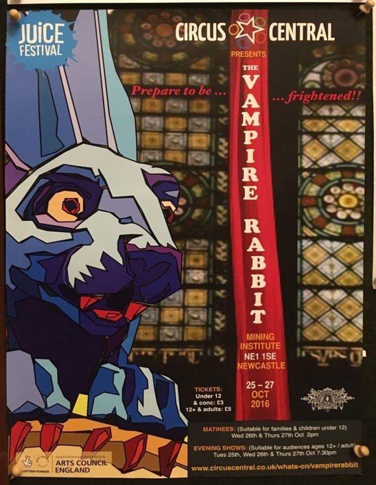The Vampire Rabbit at the Mining Institute