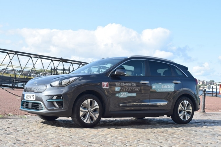 Why Not take and urban exploration with the Kia E Niro