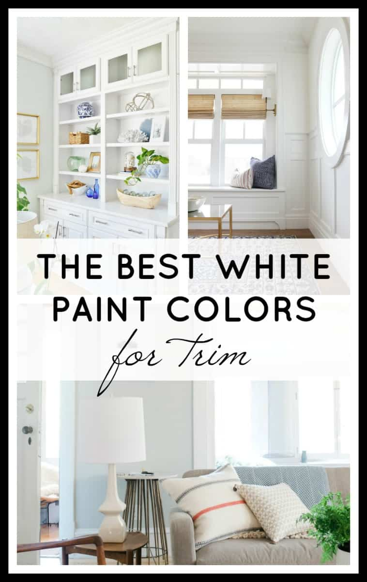 The Best White Paint Colors for Trim Feature Image