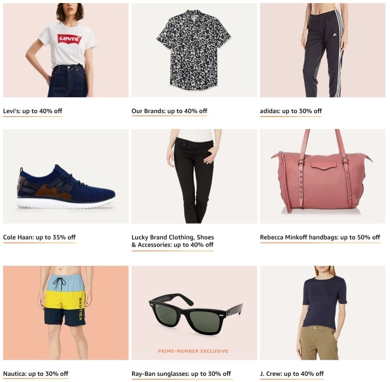 What to Buy from Amazon The Big Style Sale