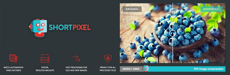 ShortPixel: Image optimization service for WordPress