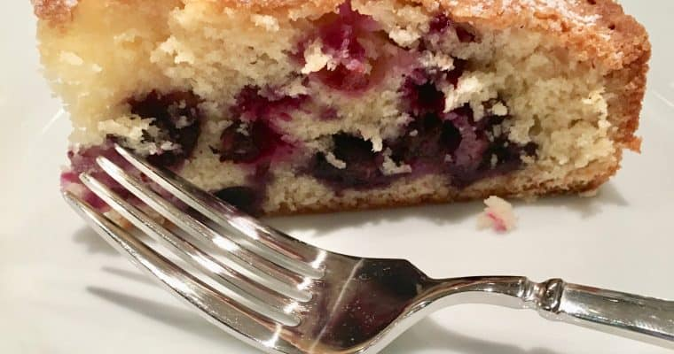 Blueberry-Muffin Cake from Fine Cooking