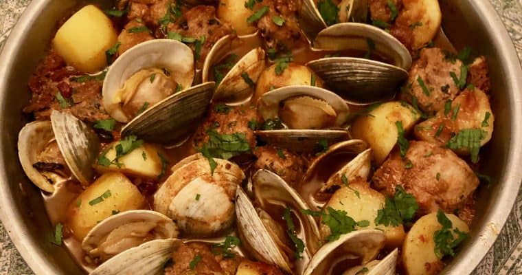 Pork with Clams Alentejo Style