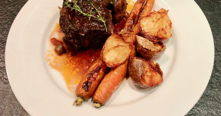 The Bridgehampton Inn's Braised Short Ribs